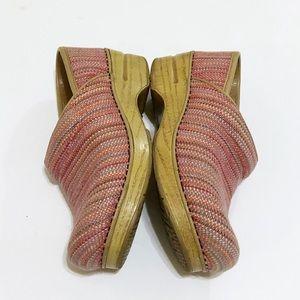 Dansko Shoes - Dansko Canvas Pro Textured clogs